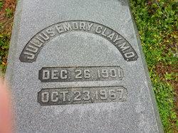 Dr Julius Emory Clay