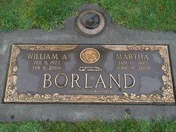 Martha <i>Mead</i> Borland