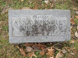 Anna W <i>Hooker</i> Knoten