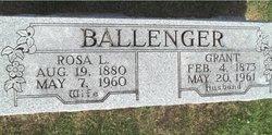 Rosa L. <i>Gamble</i> Ballenger