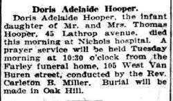 Doris A Hooper