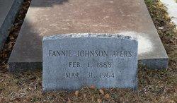 Fannie <i>Johnson</i> Ayers