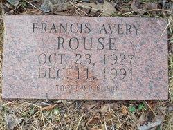 Francis <i>Avery</i> Rouse