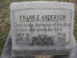 Frank E. Anderson