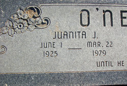 Juanita June <i>Rector</i> O'Neal