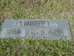 Mary <i>Weaver</i> Bodden