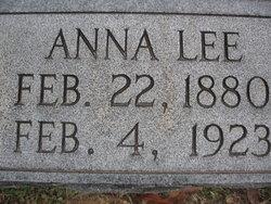 Anna Lee Annie <i>Vernon</i> Anderson