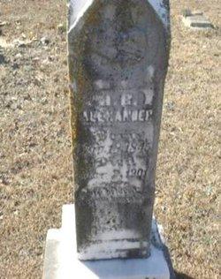 John Benjamin Babe Alexander