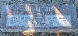 Mary Emma <i>Wildin</i> Williams