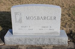 Amos A Mosbarger