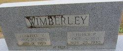Flarzell Flossie <i>Yates</i> Wimberley