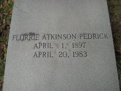 Florrie <i>Atkinson</i> Pedrick