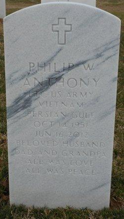 LTC Philip W Anthony