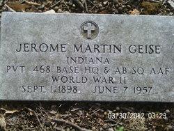 Jerome Martin Geise