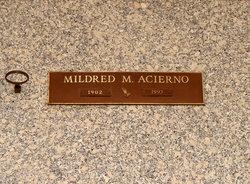 Mildred May Millie <i>Hall</i> Acierno