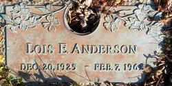 Lois Elizabeth <i>McCraw</i> Anderson