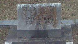 Willie Baxton George