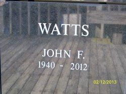 John F Watts