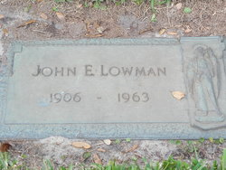 John Edgar Buck Lowman