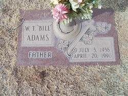 William T Bill Adams