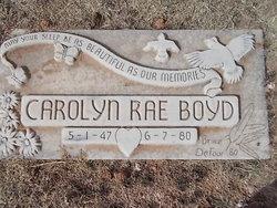 Carolyn Rae Boyd