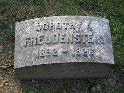 Dorothy I. <i>Schmidt</i> Freudenstein