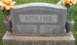 Julia Maxine Maxie <i>Elliott</i> Adkins