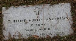 Clifford Huron Anderson