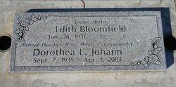 Edith Bloomfield