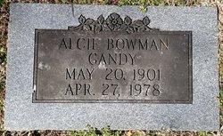 Alcie Gertrude <i>Todd</i> Bowman Gandy
