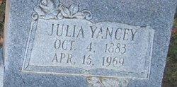 Julia <i>Yancey</i> Creedle