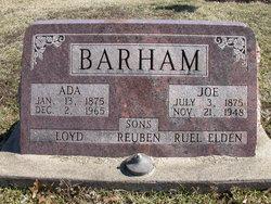 Joseph Barham