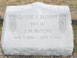 Augusta Gussie <i>Sessions</i> Blount