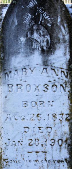 Mary Ann <i>Ellis</i> Broxson