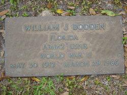 William Joseph Bodden