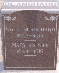 Mary <i>Reves</i> Blanchard