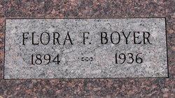 Flora Frances <i>Hickman</i> Boyer