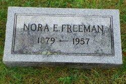 Nora <i>E</i> Freeman