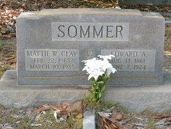 Mattie <i>Wimberly</i> Sommer