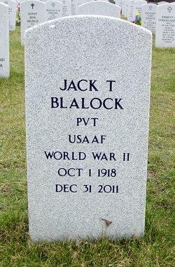 Pvt Jack Taylor Blalock