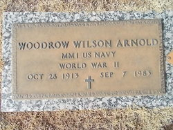 Woodrow Wilson Arnold