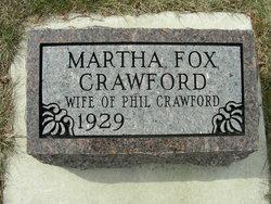 Martha <i>Fox</i> Crawford