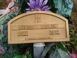 Mary Louise <i>Johnson</i> Bowen