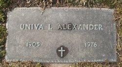 Univa M <i>Ledford</i> Alexander
