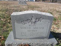 Vollie Rudy <i>Miller</i> Adams