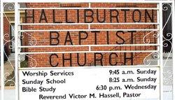 Halliburton Baptist Church Cemetery
