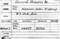Pvt Francis Marion Acord