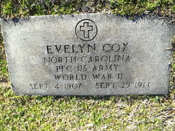 PFC Evelyn Cox