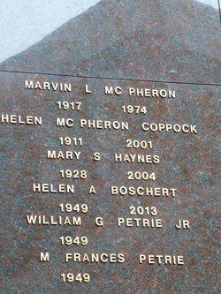 Helen A. <i>Haley</i> Boschert