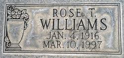 Rose T J <i>Catania</i> Williams